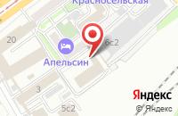 Схема проезда до компании Студиядизайнфото в Москве