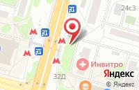 Схема проезда до компании Фокус Сити в Москве