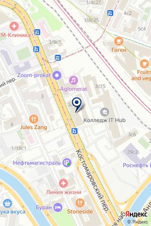ДК МЕТРОСТРОЙ на карте Москвы