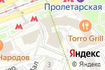 Схема проезда до компании Бэльами в Москве