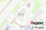Схема проезда до компании Лигадент в Москве