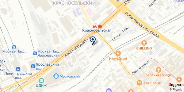 Московская объединенная энергетическая компания, ПАО на карте Москве