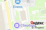 Схема проезда до компании А-мега в Москве