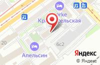 Схема проезда до компании Рофайн в Москве