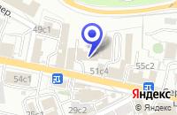 Схема проезда до компании АРХИТЕКТУРНАЯ ФИРМА ЮРАПИС АПМ в Москве