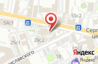 Схема проезда до компании Национальная Лотерейная Компания в Москве