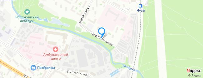 проезд Кадомцева