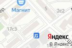 Схема проезда до компании Здравушка в Москве