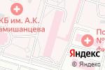 Схема проезда до компании Городская клиническая больница им. А.К. Ерамишанцева в Москве