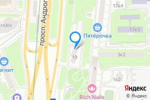 Комната в Москве проспект Андропова, 19