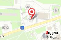 Схема проезда до компании Генпроектстрой в Москве