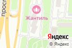 Схема проезда до компании Жантиль в Москве