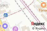 Схема проезда до компании Trix studio в Москве