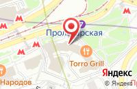Схема проезда до компании Опять ЛЕТО в Москве