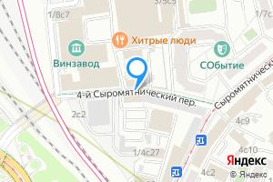 Однокомнатная квартира в Москве м. Чкаловская, 4-й Сыромятнический переулок