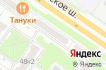Схема проезда до компании Свадебный антураж в Москве