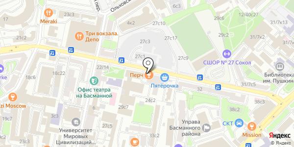 ВсеСтиральные.com. Схема проезда в Москве