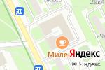 Схема проезда до компании Адвокатский кабинет в Москве