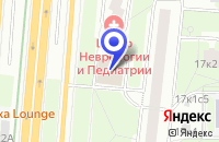 Схема проезда до компании РИКОДЕЯ в Москве
