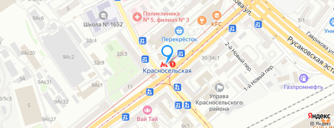 метро Красносельская