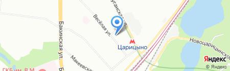 Авто-Онлайн на карте Москвы