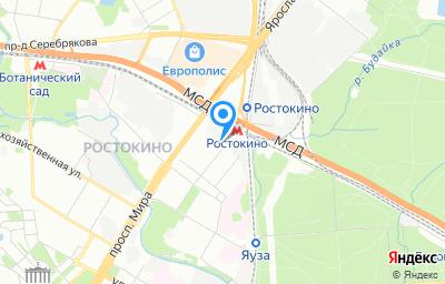 Местоположение на карте пункта техосмотра по адресу г Москва, ул Бажова, д 17 стр 1