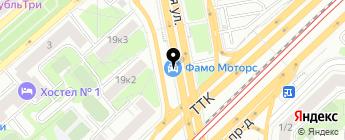 Магазин колесного крепежа и автоаксессуаров на карте Москвы