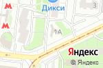 Схема проезда до компании Бистро на Судостроительной в Москве