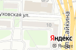 Схема проезда до компании Ницца в Москве