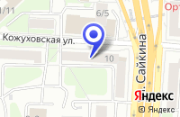 Схема проезда до компании ИНТЕРЬЕРНЫЙ САЛОН ALLTIME в Москве