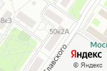 Схема проезда до компании Partsdealer.ru в Москве