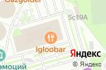 Схема проезда до компании Дельта-план в Москве