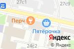Схема проезда до компании Imarket.by в Москве