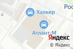 Схема проезда до компании Великан Премиум в Москве