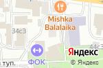 Схема проезда до компании Виксер в Москве
