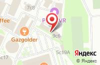 Схема проезда до компании Завод Технического Фарфора в Москве