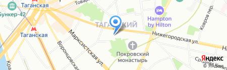 Манфреди на карте Москвы