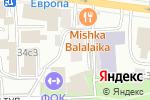 Схема проезда до компании Манфреди в Москве
