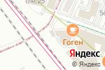 Схема проезда до компании Burger First в Москве