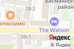 Схема проезда до компании Отделение по делам несовершеннолетних Отдела МВД России по району Басманный в Москве