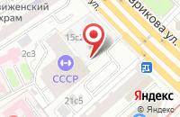 Схема проезда до компании Рисмас в Москве