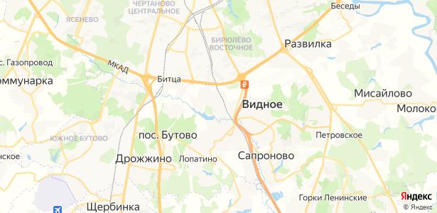 Булатниково на карте