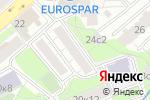Схема проезда до компании LambadaPrint в Москве