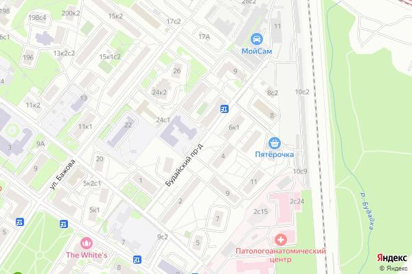 Ремонт телевизоров Будайский проезд на яндекс карте