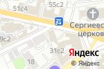 Схема проезда до компании Московская ассоциация предпринимателей в Москве