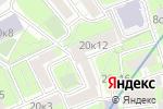 Схема проезда до компании Янтарь в Москве