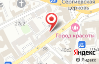 Схема проезда до компании АльпенДом в Москве