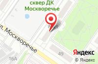 Схема проезда до компании Фиш-Ко в Москве