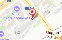 Схема проезда до компании Техинвестмонтаж в Москве
