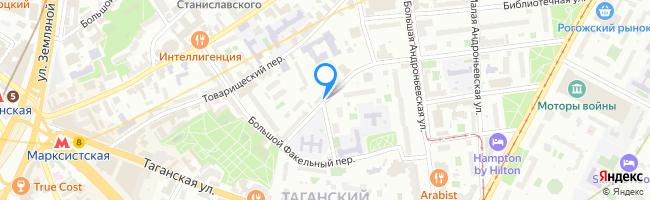 Большой Рогожский переулок
